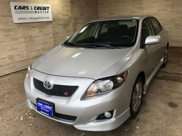 2010 Toyota Corolla S 4 Sd At In Dallas Tx Cars And Credit